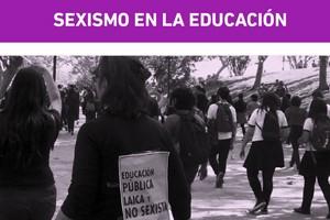 sexismo en la educacion
