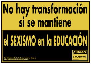 sexismo en la educación 2015