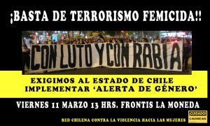 BASTA DE TERRORISMO FEMICIDA