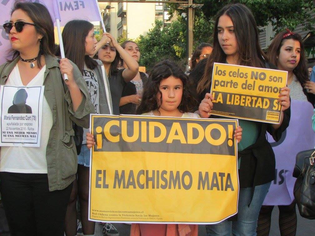 Éramos todas niñas!! - Red Chilena contra la Violencia hacia las Mujeres