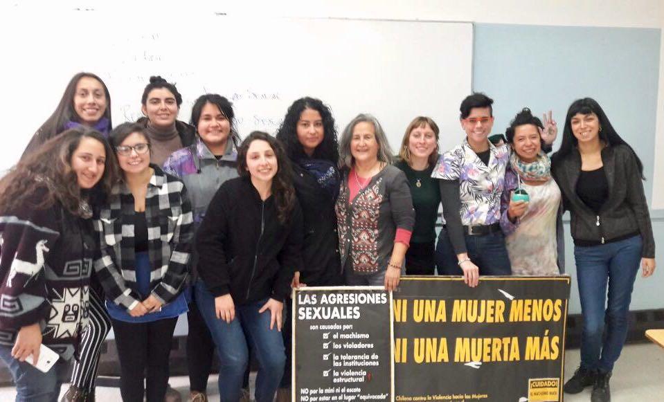 """Red Chilena contra la Violencia hacia las Mujeres participa de taller """"Desmantelando el patriarcado"""" en U. de Concepción"""