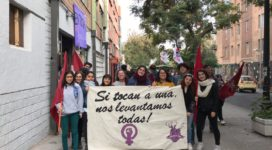 Martina Peña, participante toma feminista EGGP (UCH)