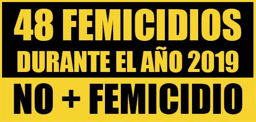 48 femicidios 2019