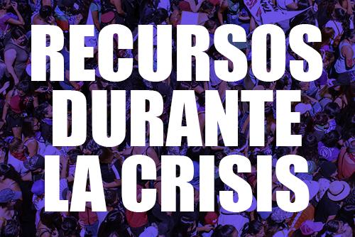 recursos durante la crisis