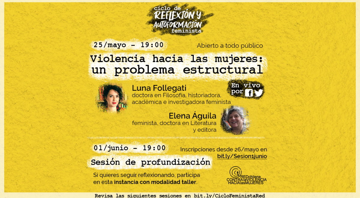 sesion 1 Ciclo de reflexion y autoformacion feminista