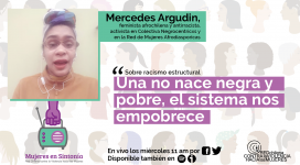 mercedes argudin Mujeres en Sintonia 4to cap 6ta temporada Red Chilena contra la Violencia hacia las Mujeres