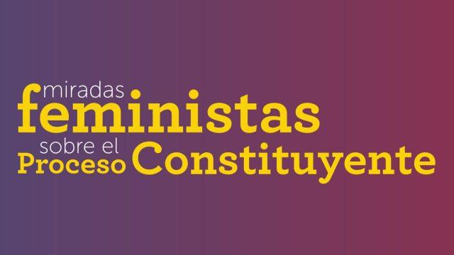 miradas feministas sobre el proceso constituyente