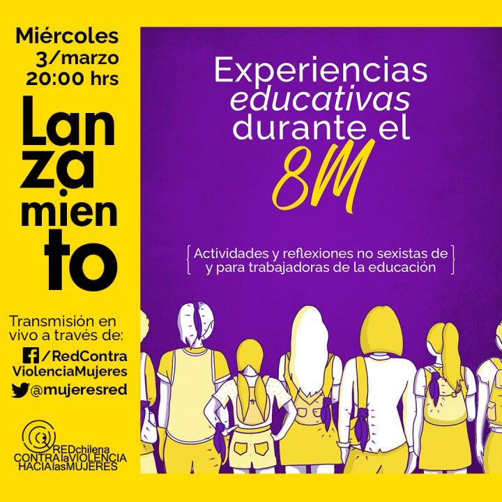 experiencias educativas 8m afiche