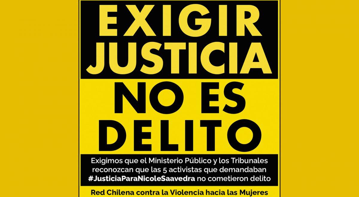 exigir justicia no es delito
