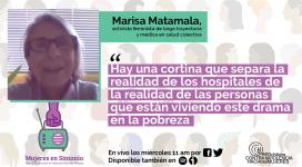 Marisa Matamala Mujeres en Sintonía 3er cap
