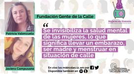 Fundacion Gente de la Calle en Mujeres en Sintonia Red Chilena contra la Violencia hacia las Mujeres