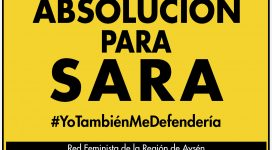 Absolución para Sara #yotambienmedefenderia