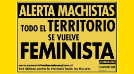 alerta machistas todo el territorio se vuelve feminista